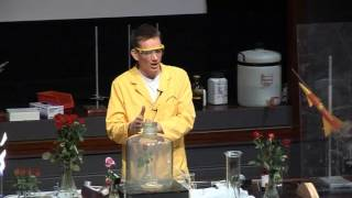 Free Range Chemistry  22 - Burning Sulphur with Rose