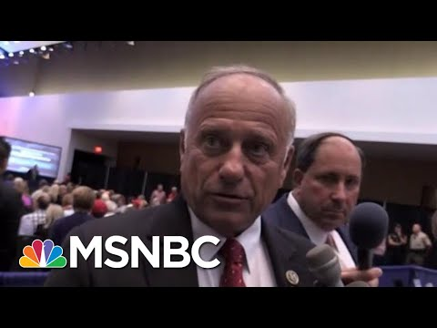 GOP Representative Steve King Blows Up At Constituent | All In | MSNBC