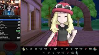 Pokemon Y Any% Speedrun in 3:49:14 (PB)