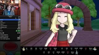 Pokemon Y Any% Speedrun in 3:49:14 (PB)