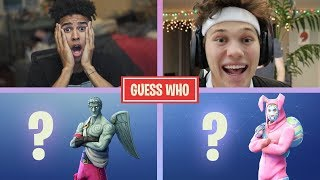 GUESS THAT FORTNITE SKIN! vs. JesserTheLazer PART 3