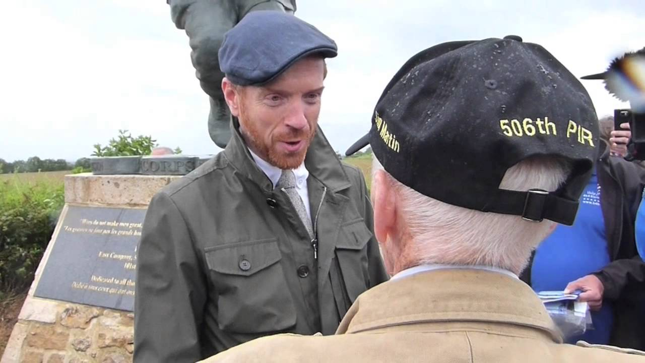 band of brothers actors meet real soldiers