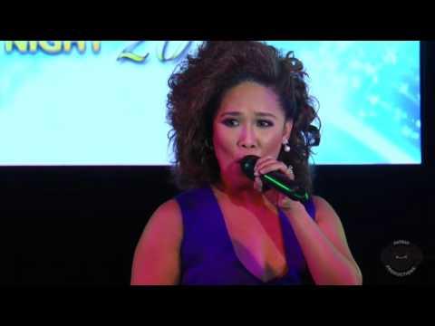 Anna Fegi Brown Performs at the Miss Cebu Pre-Pageant Night 2016