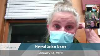 Pownal Select Board // 1-14-21
