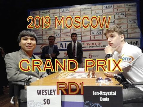 Duda Vs Wesley So: How To Drop A Single Pawn & The Game In 23 Moves:Rd1 2019 Moscow Grand Prix