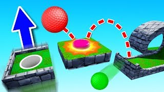 This Map Has a TROLL BUTTON?! (Golf It)
