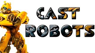 Transformers 6 Bumblebee The Movie - Cast Robots