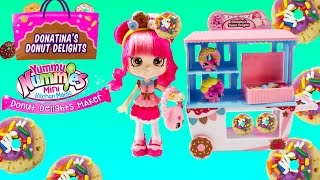Shoppies Doll Donatina's Donut Delights Playset+Yummy Nummies Donut Delights Maker