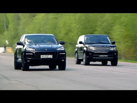 Porsche Cayenne Turbo Gemballa Vs Land Rover Rrs Mercedes Benz Ml63 Amg
