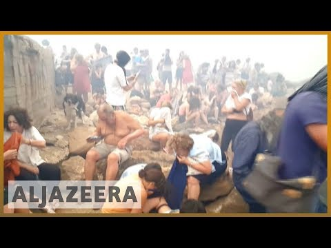 🇬🇷 Greece fires: Inquiry launched regarding response | Al Jazeera English