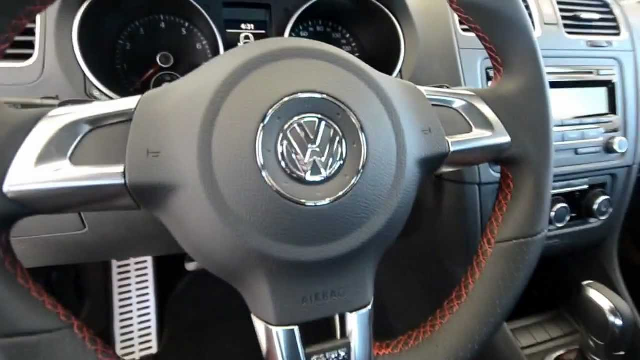 Brand New 2013 Volkswagen Gti 4 Door Hatchback Dsg At