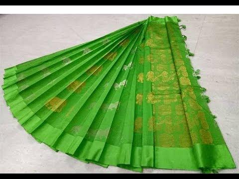 New Design Handloom Kanchi Silk Cotton Sarees || New Kanchi