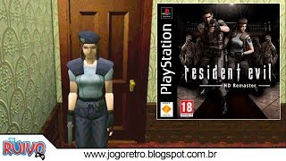 Resident Evil Hack Remaster no Playstation 1 (PS1)