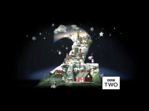 BBC Two Christmas Ident 2011/2012 Moon/Sun HD