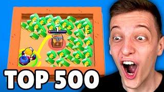 TOP 500 GLITCHES IN BRAWL STARS! 😱