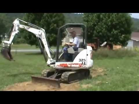 2005 Bobcat 325 G Series Rubber Track Mini Excavator