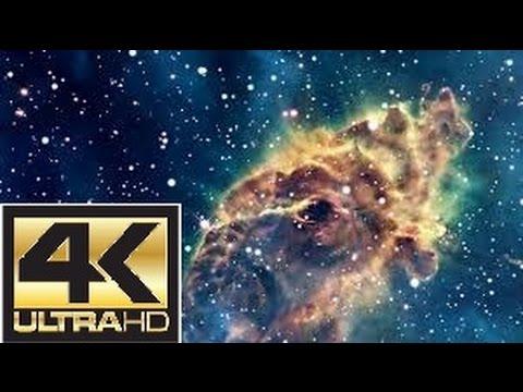 ♫♫♫ Real Space 4K Video + Hubble UltraHD Slideshow ♥ Sci-fi & Space Music ♥ Ultra HD (4K)