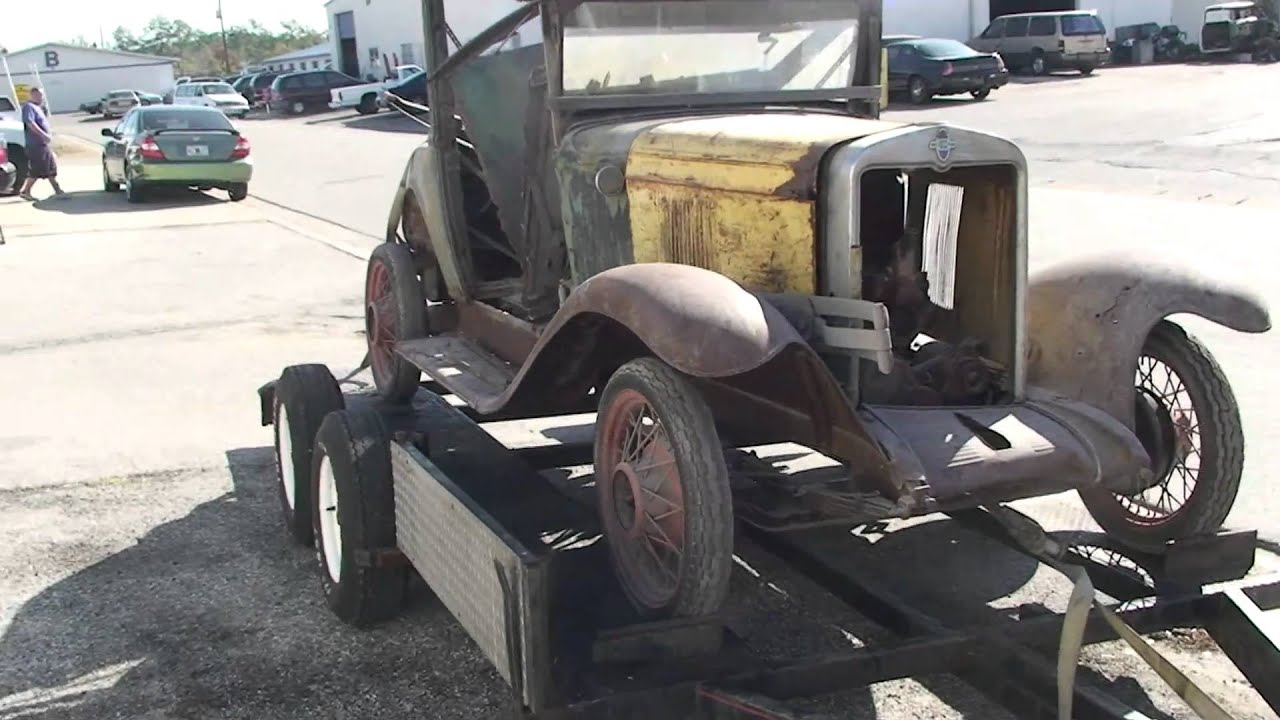 1929 CHEVY BUSINESS COUPE FOR SALE IN LARGO FLORIDA 2500.00 - YouTube