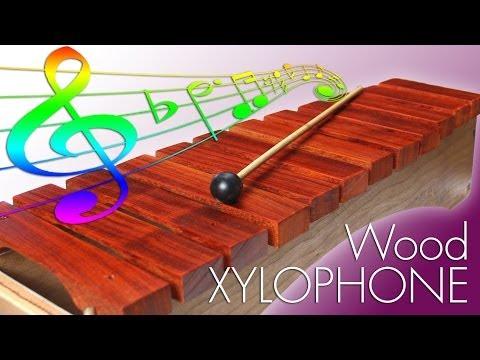 Making Toy Wood Xylophone