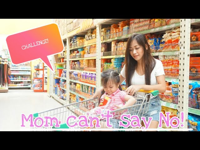 Mom cant say NO! Challenge (Pambawi kay MikMik)