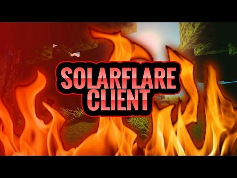 MCPE SOLAR FLARE V1 HACKED CLIENT