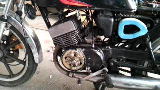 Yamaha RDX 125 - Premier démarrage - First run