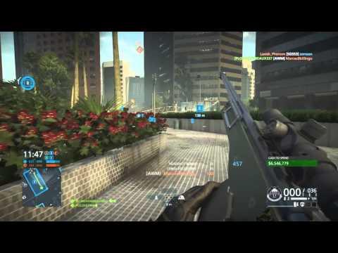 Absolute Madman (Sniper Gameplay) - Rambeaux337 - Battlefield Hardline |