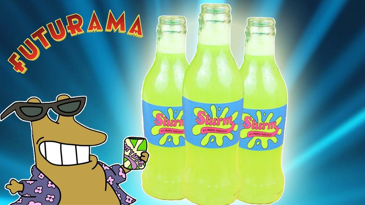 La Adictiva Bebida Slurm De Futurama