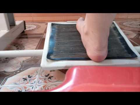 Sử dụng bàn đạp máy juki_ Pedal foot of juki sewing machine