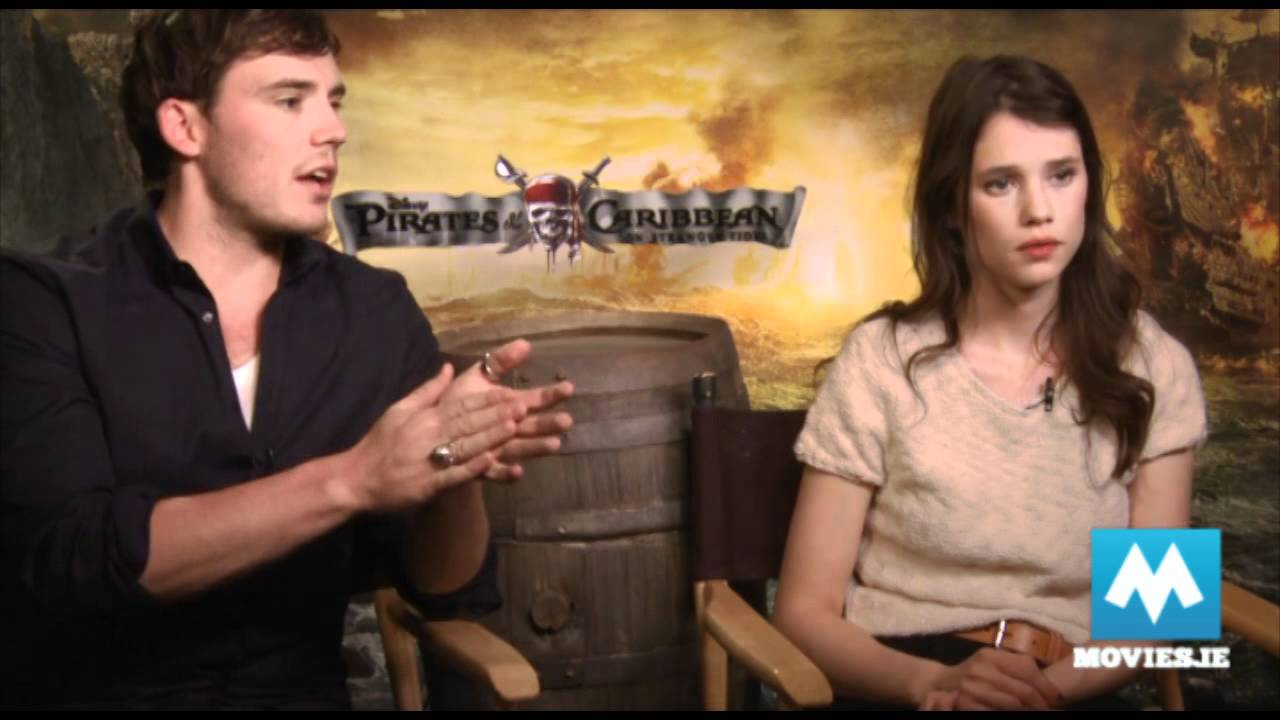 sam claflin talks pirates of the caribbean on stranger tides with
