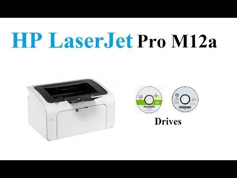 HP LaserJet Pro M12a Driver