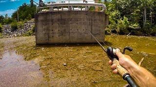 Найважчих умов риболовлі. Як зловити рибу на видувається озеро?