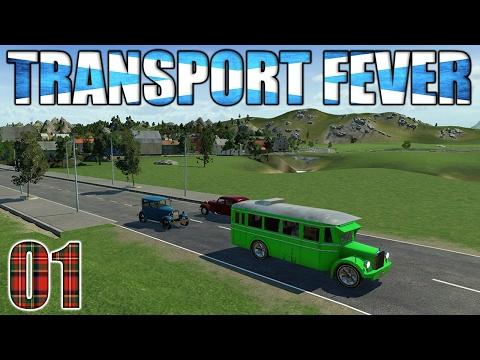 Transport Fever || Let's Get Scotland Moving Part 1!