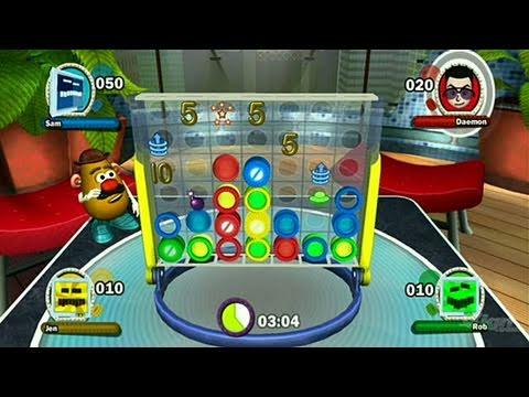 e44679e5e Hasbro Family Game Night 2 Nintendo Wii Gameplay - Connect - YouTube