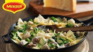 Maggi Ramadan Recipes: Pasta Primavera - معكرونة بالخضار