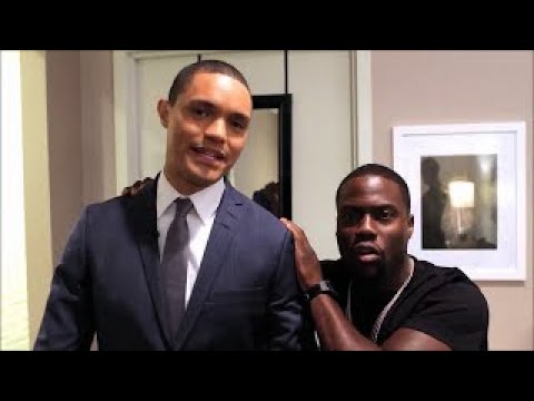 Download Youtube: Behind the scenes: Kevin Hart guests on Daily Show with Trevor Noah