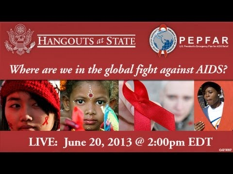 Hangouts At State: Where are we in the fight against HIV/AIDS?