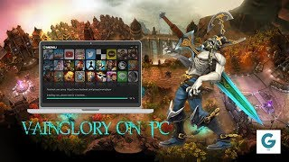 How to Play Vainglory And Set Hotkeys on PC (Easy Steps) - 2017