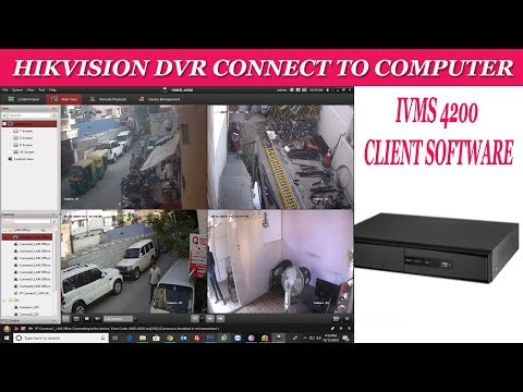 Hikvision dvr computer configuration ivms 4200 configuration for computer / laptop tutorial