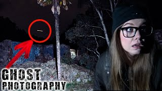 GHOST Photography at Haunted Ruins | Anstey Hill Paranormal Investigation
