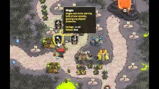 Kingdom Rush - Rotten Forest - Campaign - No Heroes - No Bonus - Walkthrough