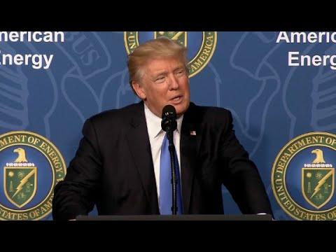 Trump's full speech at energy summit