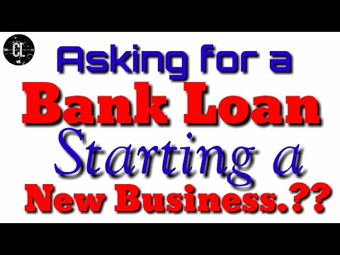 How To Write A Letter/Application Asking For A Bank Loan For Starting A New Business.