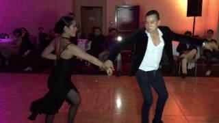 Antonio Arias & Alien Ramirez Salsa Dancing @Seattle Salsa Congress 2016