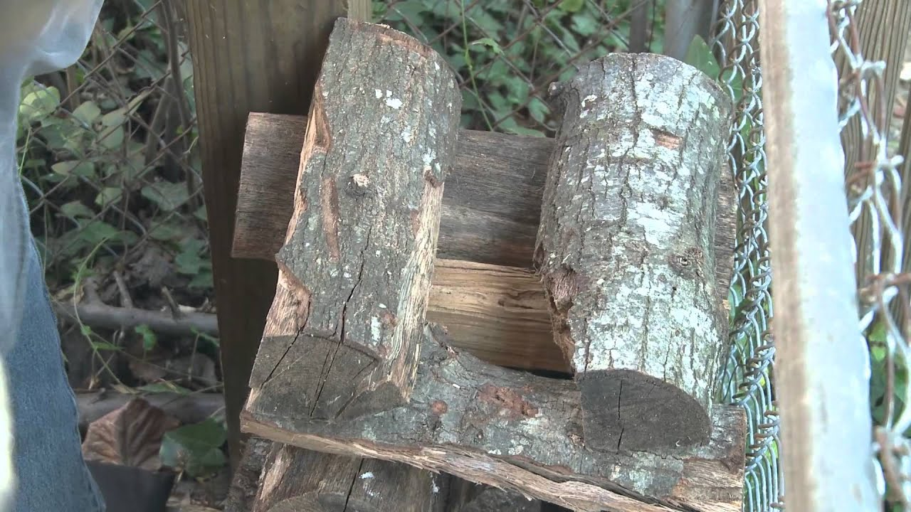 Split Stack Cover Four Simple Steps To Drying Firewood You