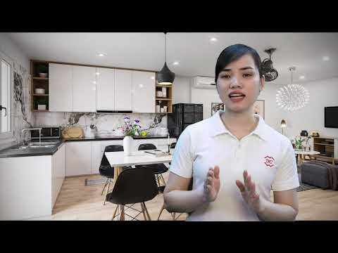 3 lưu ý thiết kế trần thạch cao phòng khách liền bếp