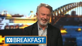 Sam Neill on Jurassic Park, James Bond why he hates golf | News Breakfast