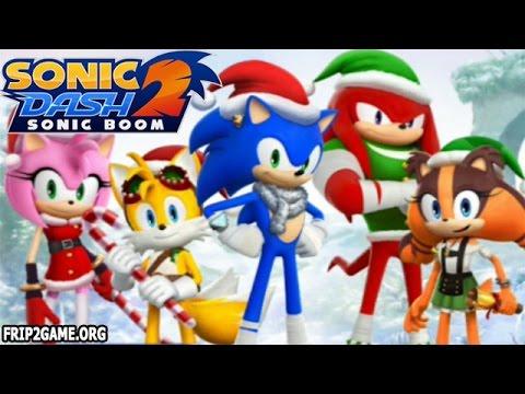 Sonic Dash 2: Sonic Boom New Update Event Christmas 2015!