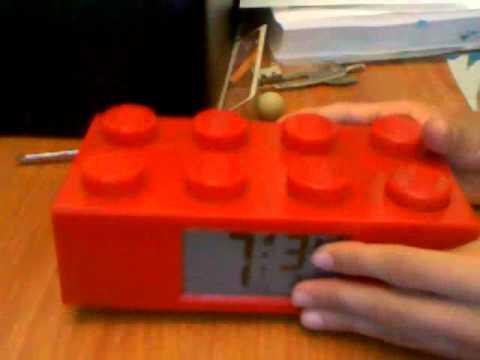 lego alarm clock reveiw - YouTube
