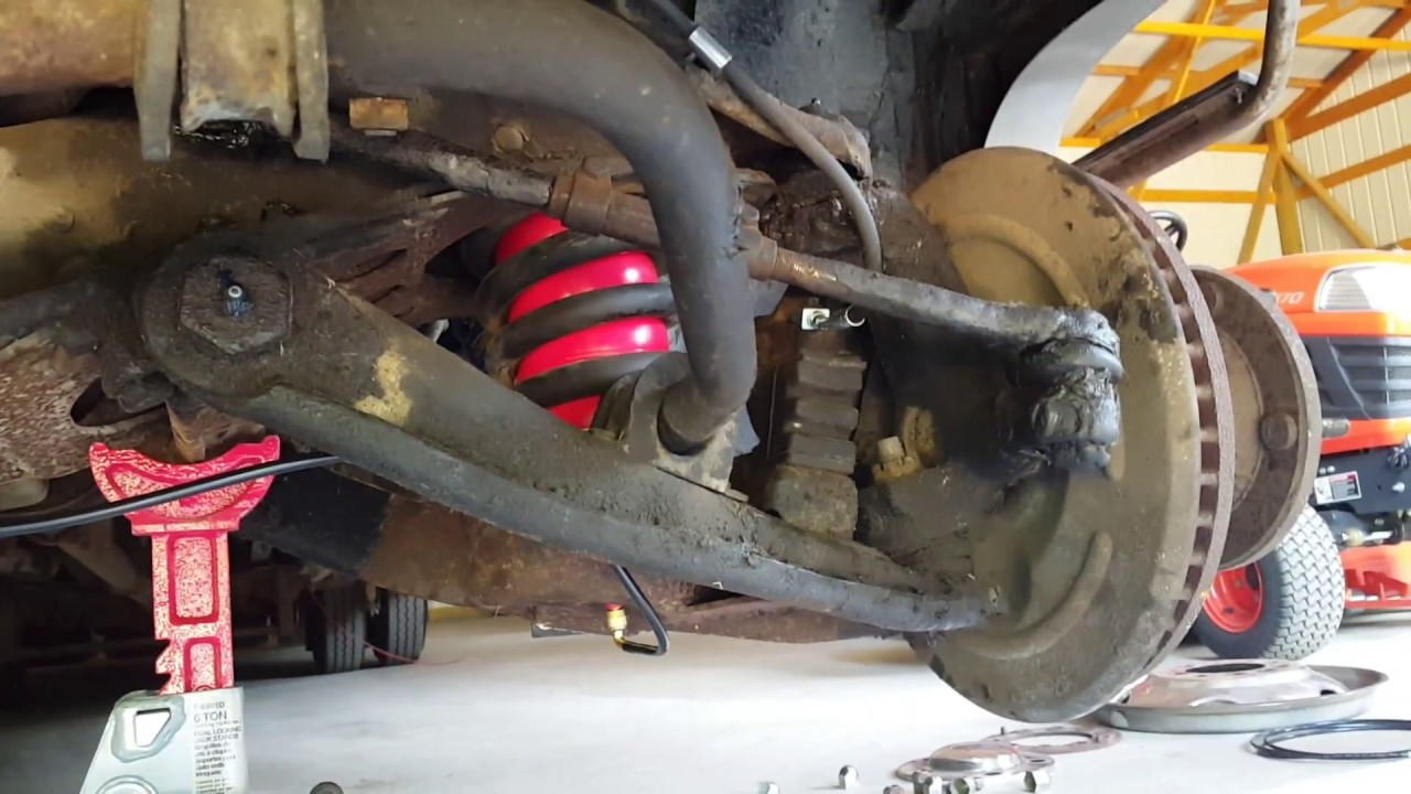 Easiest way to install airbags inside coil springs